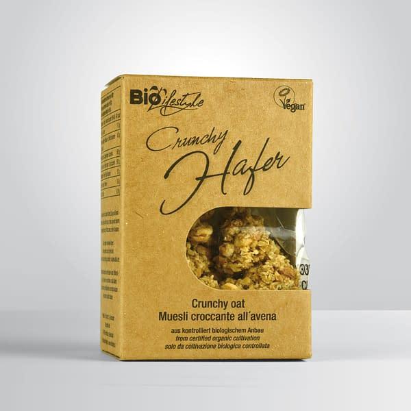 BioLifestyle Crunchy Hafer 50g