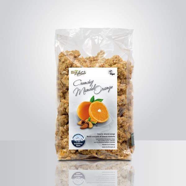 BioLifestyle Crunchy Mandel Orange