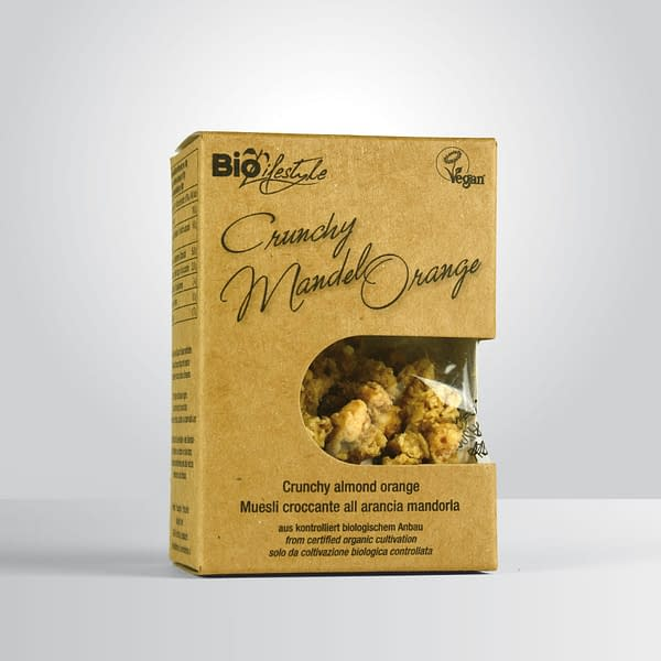Bio Crunchy Mandel-Orange