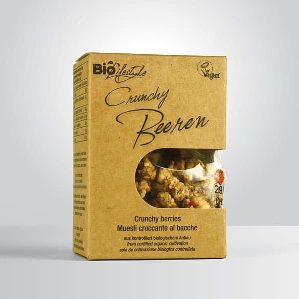 Bio Crunchy Beeren 3%